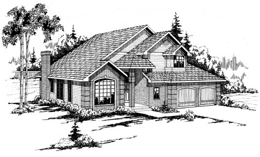 Northwest Style House Plans Plan: 17-151