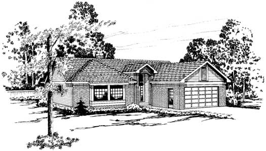 Traditional Style House Plans Plan: 17-156
