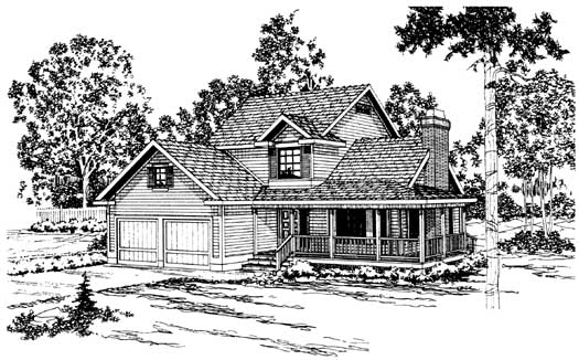 Northwest Style House Plans Plan: 17-159