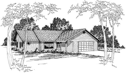 Traditional Style Floor Plans 17-163