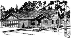 Traditional Style Floor Plans Plan: 17-164