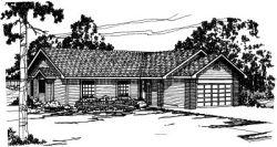Ranch Style Floor Plans Plan: 17-167