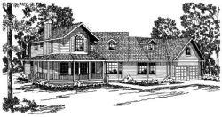 Farm Style House Plans Plan: 17-168