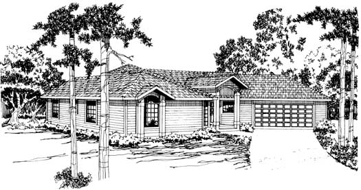 Traditional Style House Plans Plan: 17-172