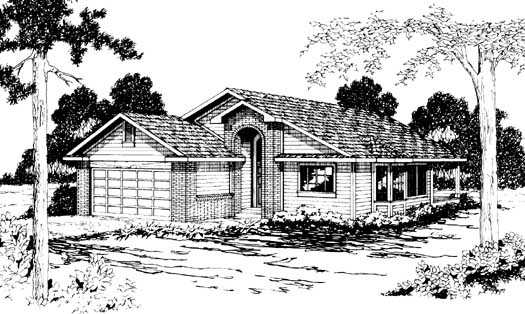 Northwest Style House Plans Plan: 17-177
