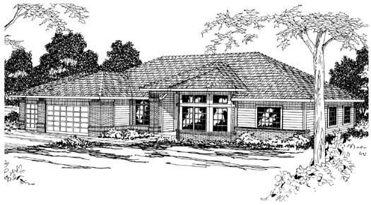 Traditional Style House Plans Plan: 17-180