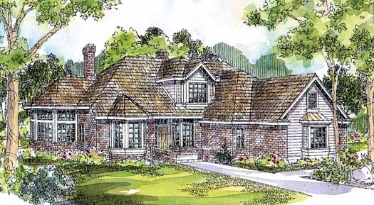 Traditional Style House Plans 17-191
