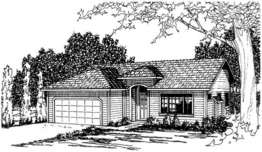 Traditional Style Floor Plans Plan: 17-198
