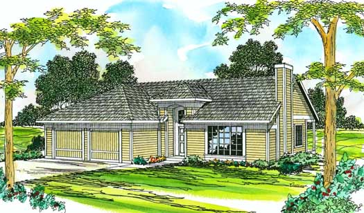 Traditional Style House Plans Plan: 17-199