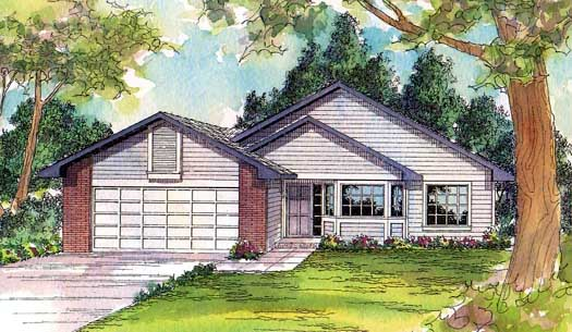 Traditional Style Floor Plans Plan: 17-200