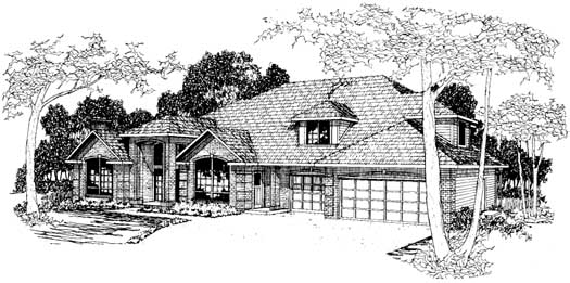 Northwest Style Floor Plans Plan: 17-202
