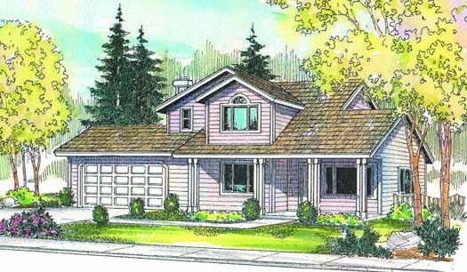 Country Style House Plans Plan: 17-215