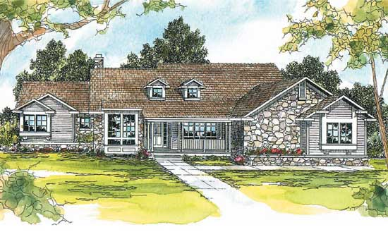 Ranch Style Floor Plans Plan: 17-220