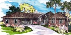 Traditional Style Home Design Plan: 17-223