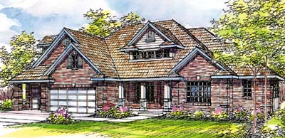Traditional Style House Plans Plan: 17-228