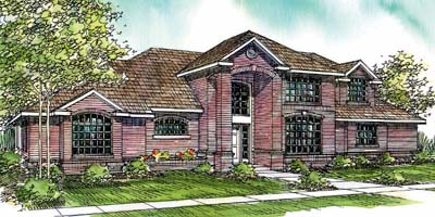 Traditional Style House Plans Plan: 17-230