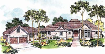 Traditional Style House Plans Plan: 17-238