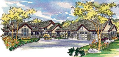 Traditional Style House Plans Plan: 17-246
