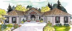 Traditional Style Home Design Plan: 17-248