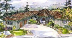 Northwest Style Floor Plans Plan: 17-250