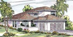 Southwest Style House Plans Plan: 17-264