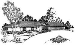 Southwest Style House Plans Plan: 17-294