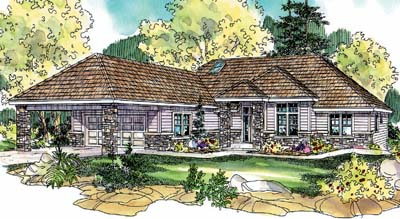 Contemporary Style House Plans Plan: 17-313