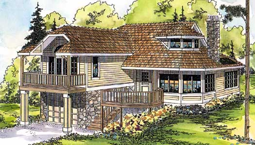 Contemporary Style Floor Plans 17-315