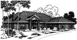 Northwest Style Floor Plans Plan: 17-316