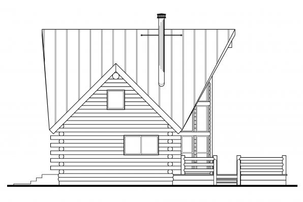 Log-cabin Style Floor Plans