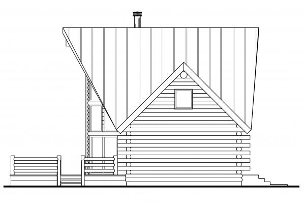 Log-cabin Style House Plans