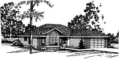 Traditional Style Floor Plans 17-321