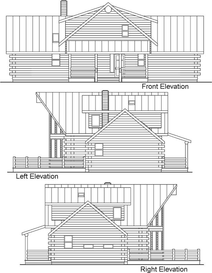 Rear Elevation Plan: 17-324