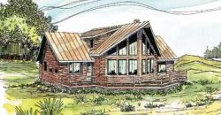 Contemporary Style House Plans 17-324