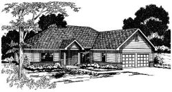 Traditional Style Floor Plans Plan: 17-330