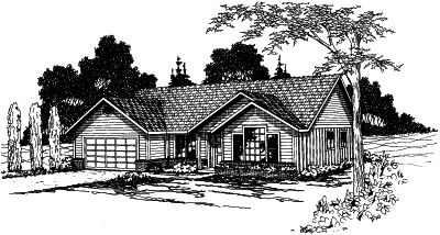 Traditional Style Floor Plans 17-332