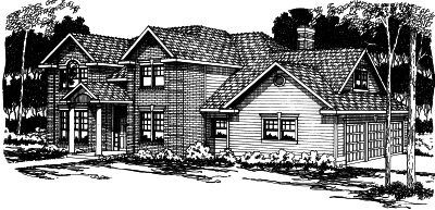 Traditional Style Floor Plans Plan: 17-337
