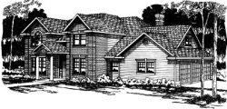 Traditional Style House Plans Plan: 17-337