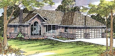 Traditional Style Floor Plans Plan: 17-338