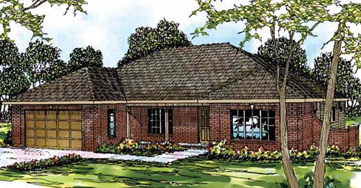 Traditional Style Floor Plans Plan: 17-342