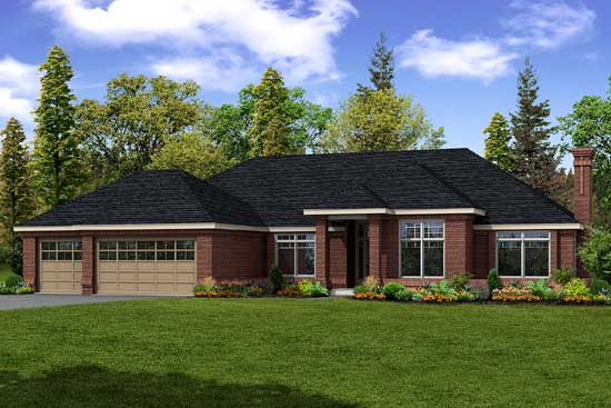 Traditional Style House Plans Plan: 17-350