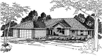 Traditional Style House Plans Plan: 17-357