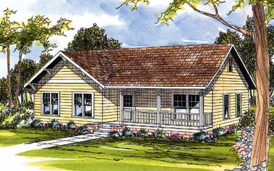 Country Style House Plans Plan: 17-361