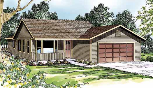 Ranch Style Floor Plans Plan: 17-365