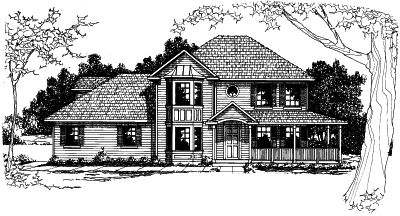 Traditional Style Floor Plans Plan: 17-369
