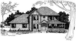 Traditional Style House Plans Plan: 17-369
