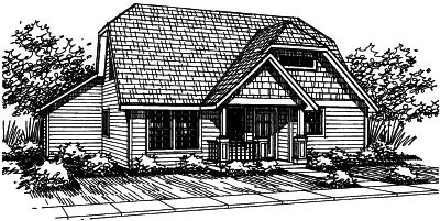 Craftsman Style House Plans Plan: 17-372