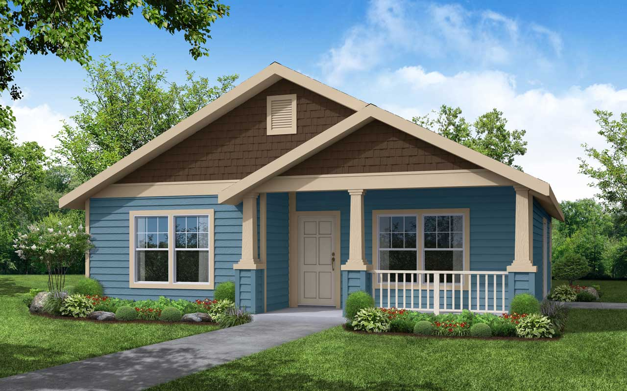 Craftsman Style House Plans Plan: 17-374