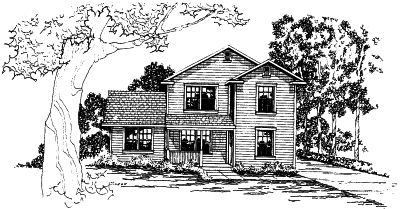 Country Style House Plans Plan: 17-377