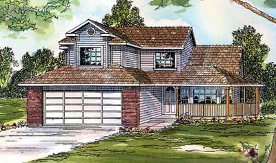 Northwest Style Floor Plans Plan: 17-379
